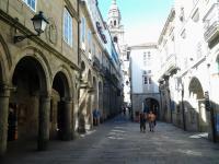 Dans une rue a l approche de la cathedrale