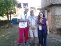 En compagnie d une bresilienne et d un espagnol