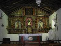 Intérieur de la chapelle de Pereje