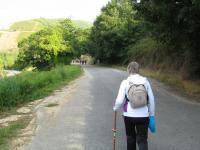 Nadine sur le Camino